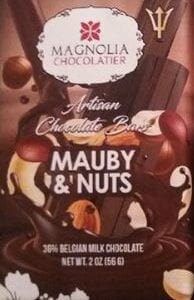 Mauby and Nuts Chocolate Bar