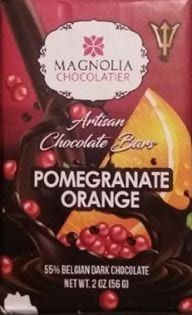 Pomegranate Orange Chocolate Bar