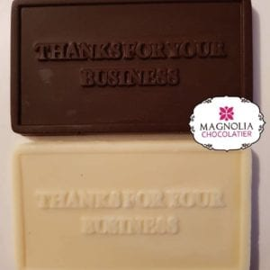Christmas Thank You Chocolate Gift Card