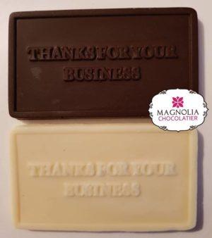 Christmas Thank You Chocolate Gift Card