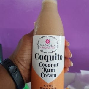 Coquito Chocolate Coconut Rum Cream